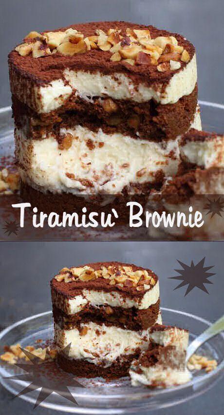 Tiramisù brownie