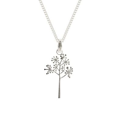 Silver and Some - Evolve - Necklace, Pendant Cabbage Tree Blossom