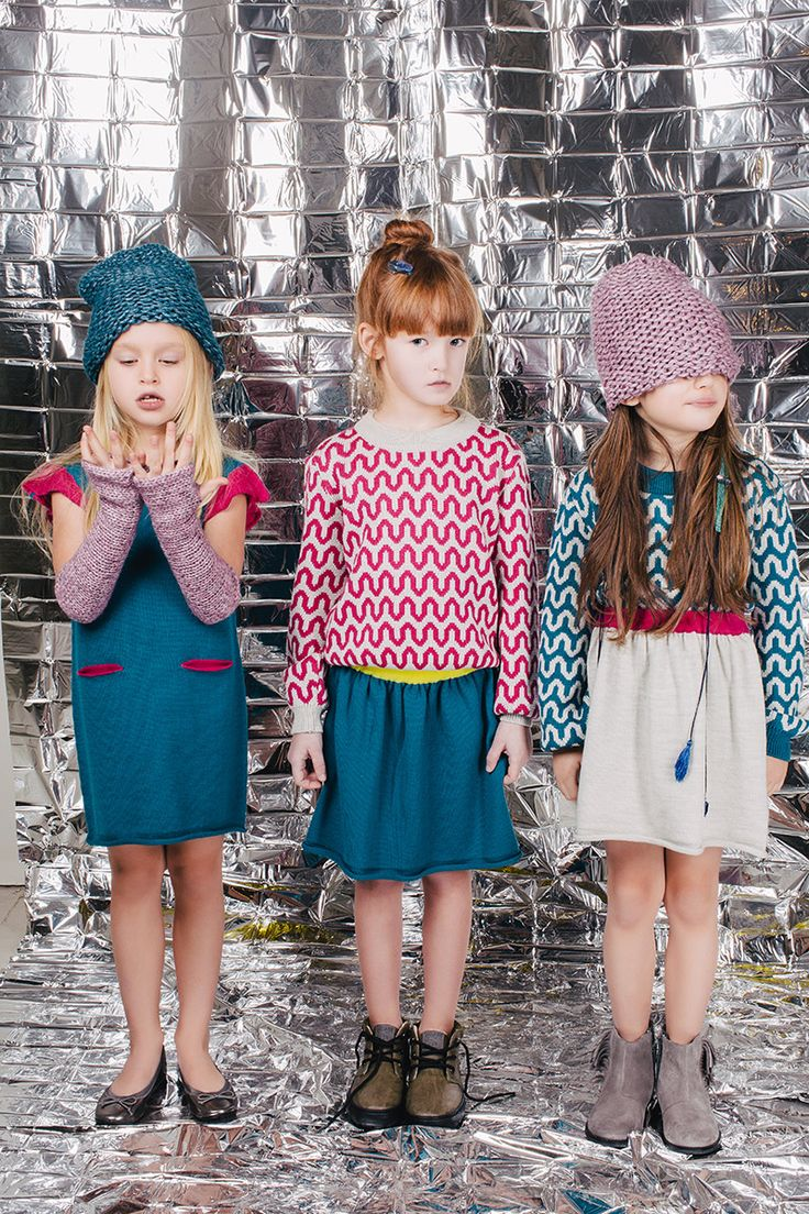 Graphic retro print at Paade Mode for kidswear fall 2016 showing at Playtime Paris