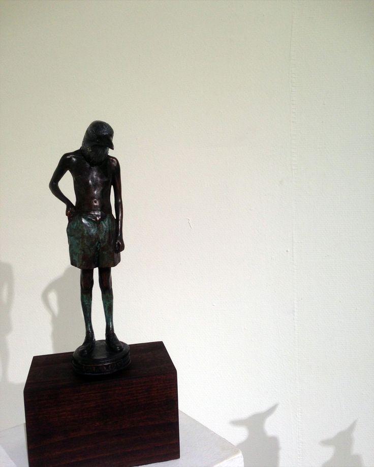 Unisa Art Gallery - CANSA Art Exhibition - Artwork by Elizabeth Balcomb - Photograph by Megan Erasmus