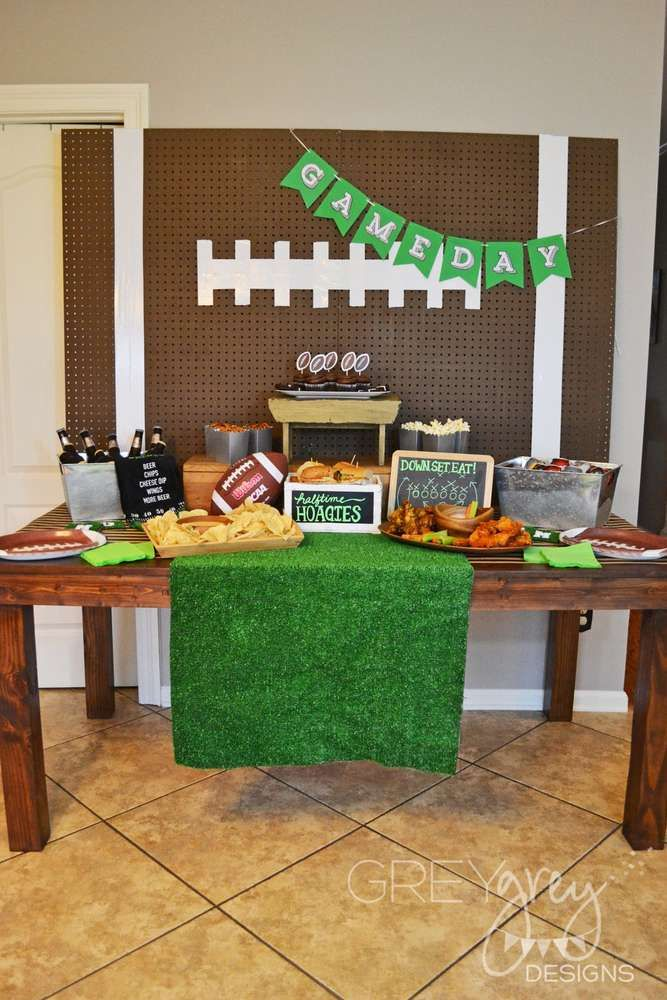 Football Party Ideas | Photo 1 of 35 | Catch My Party