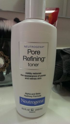 Facial toner with highest percent of glycolic acid cannot