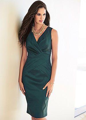 Taffeta Sleeveless Dress