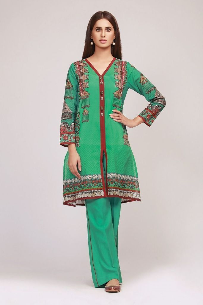 9542e90eeb New In Khaadi Lawn 2019 Spring Summer Collection with Price Tag |  Stylostreet