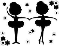 ballerina shoes silhouette - Buscar con Google