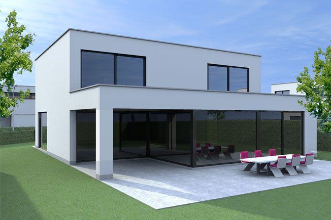 Opbouw bungalow google zoeken huis pinterest ramen tes and villas - Landscaping modern huis ...