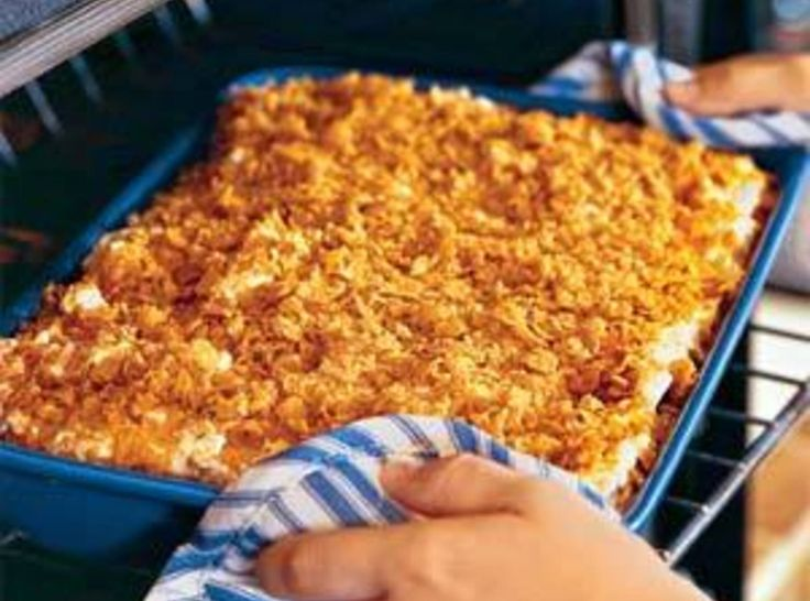 Funeral Potatoes - I will unabashedly say, I love this dish. It goes good with Ham at Christmas or at Easter.