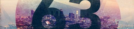 retro cityscape design in photoshop