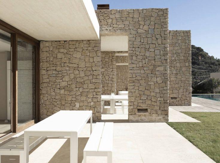 muri esterni pietra ricostruita