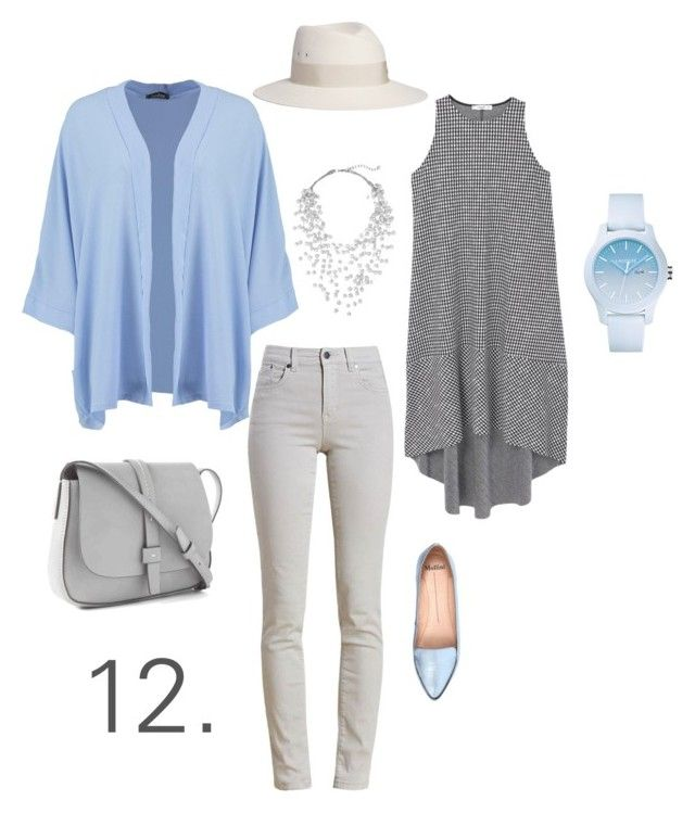 12. by nkoreshkova on Polyvore featuring polyvore fashion style MANGO Boohoo Barbour Mollini Gap Lacoste Phase Eight Maison Michel clothing