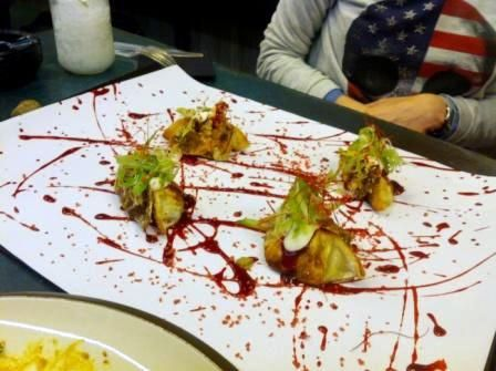 #Dumpling pekinés en el Restaurante #StreetXO