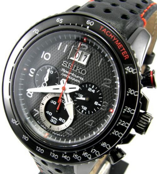 Seiko Sportura Chronograph Men's Watch SPC141P1 - In Stock, Free Next Day Delivery, Our Price: £269.99, Buy Online Now