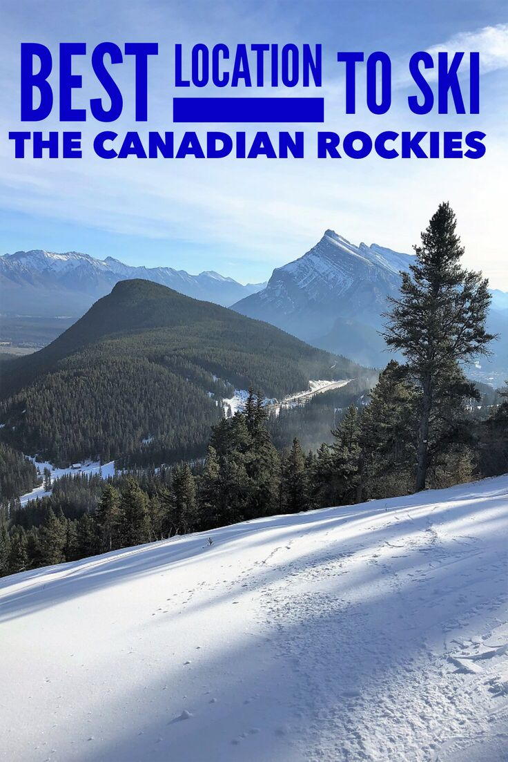 Minutes from the Rocky Mountain town of Banff Alberta, Mt Norquay is the Canadian Rockies oldest ski hill. Offering skiing, tubing, snowshoeing and sightseeing it is a family friendly winter holiday destination. #wintervacation #Banff #Canada #ski #downhillskiing