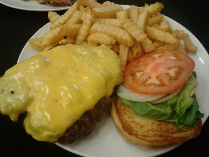 Gourmet Soul Restaurant and Catering, St. Louis,MO  Housemade Cheeseburger