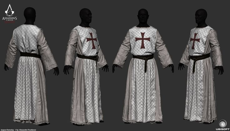 Zbrush render of Jaques Demolay from Assassins Creed Unity., Alex Troufanov on ArtStation at http://www.artstation.com/artwork/zbrush-render-of-jaques-demolay-from-assassins-creed-unity