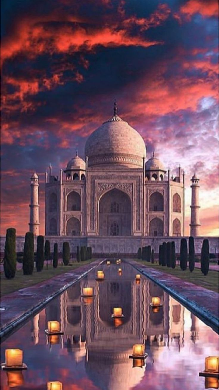 16 Places you have to visit in India! India travel, Taj