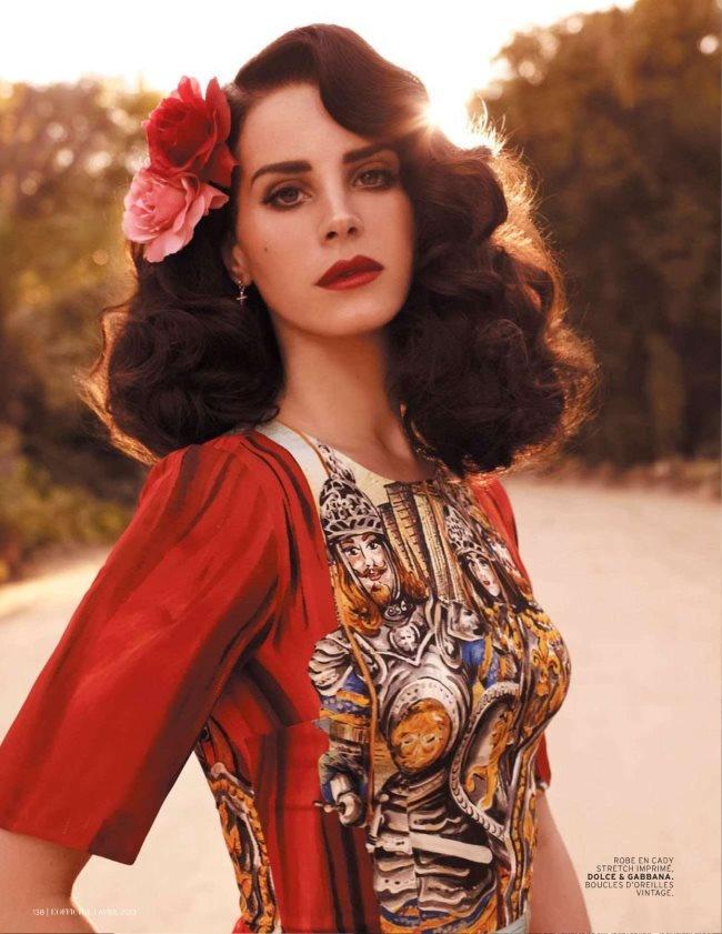 Lana Del Rey For L'Officiel Magazine April 2013