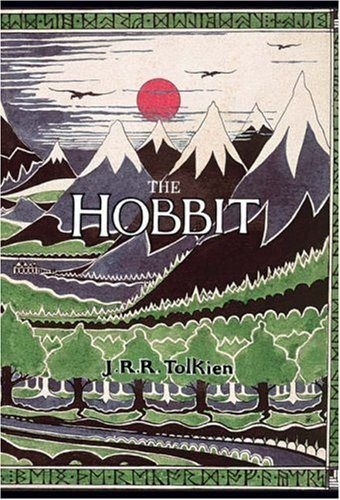 The Hobbit | JRR Tolkien | Yes, we have this in hardcover with the old illustration and it smells like my childhood