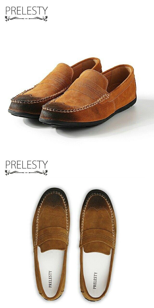 >> купить здесь << Prelesty Марка Винтаж Нежный Итальянский Свет Мужчины Пенни Loafer Классический Элегантный Формальных Платье Обувь Calcado Masculino