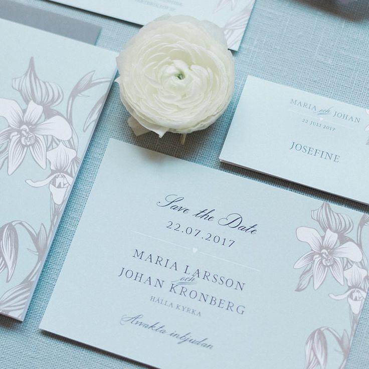 Save the date kort till bröllopet