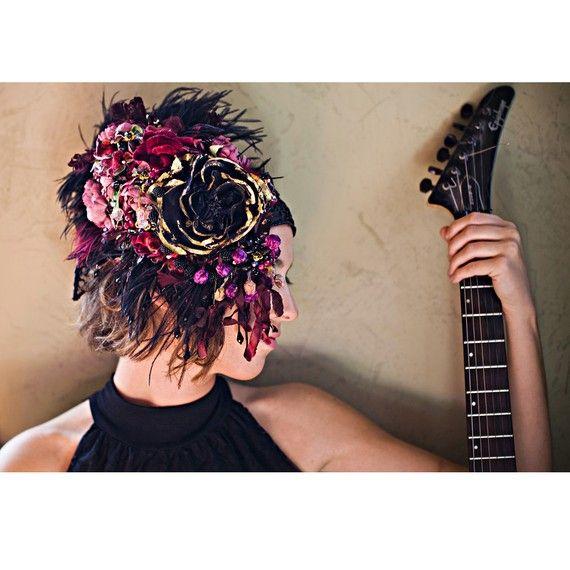 beautiful head pieceKat Swank, Accessories Perfect, Fabulous Headpieces, Head Piece, Mucha Inspiration, Hair Style, Hair Accessories, Inspiration Headbands, Alphonse Mucha