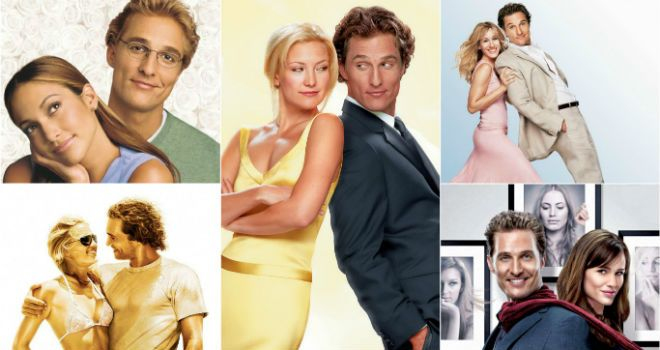 Matthew McConaughey's Rom-Coms, Ranked From Just Alright ...