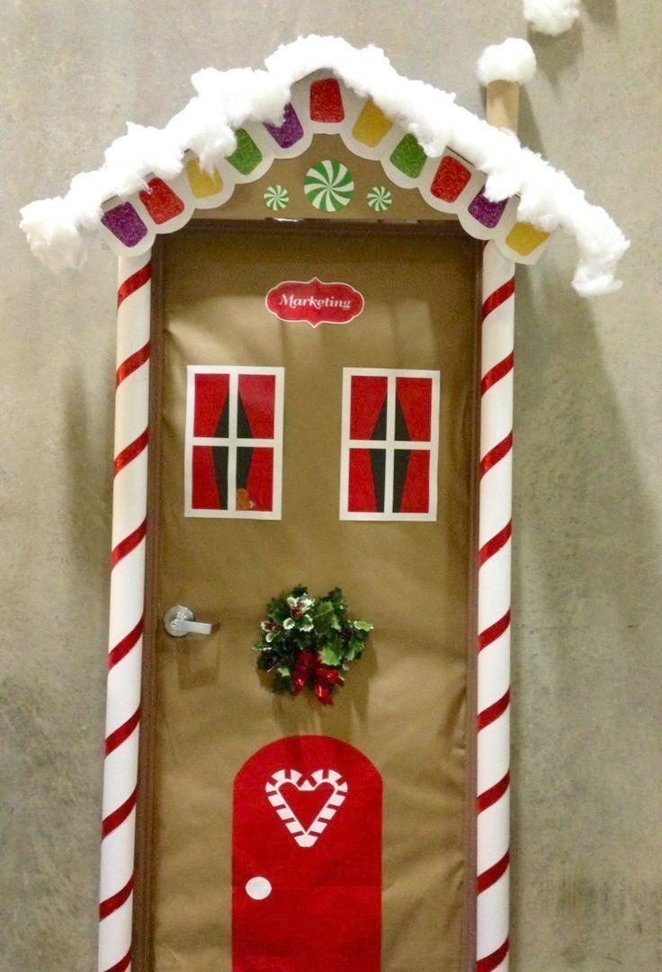 Christmas fice Door Decorating Ideas Decorating Contest