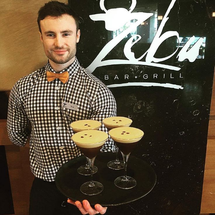 It seems Espresso Martinis are the drink of choice at Zebu Bar at Rydges Port Macquarie...