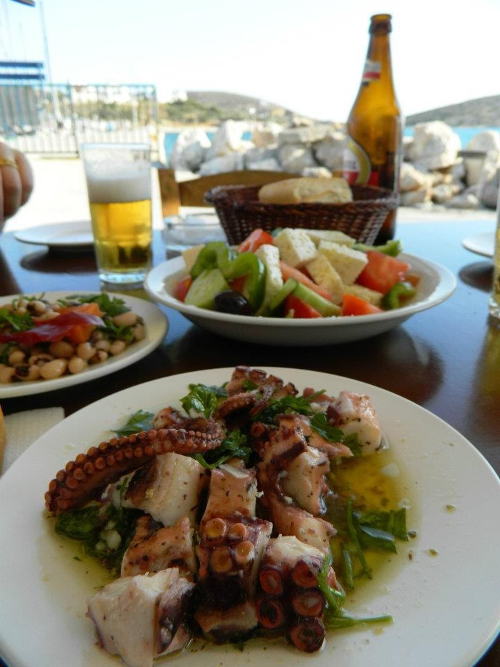 On Lipsi Island, Greece