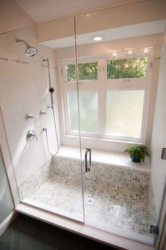 Image result for bathroom shower windows
