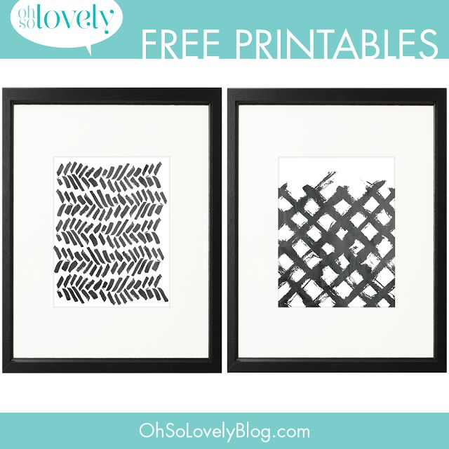 Anyone up for some more freebies? Today I'm sharing two more paint swoosh printables.   Click here to download your faves.  YOU MIGHT ALSO LIKE:  Click here to download.   Related