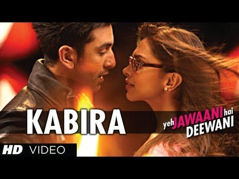 "Kabira is a song with a Sufi touch from Ranbir kapoor, Deepika Padukone starrer movie ""Yeh Jawaani Hai Deewani"" in amazing voice of Tochi Raina, Rekha Bharadwaj, It is a falling-in-love song that is easy on the ears. The music is by Pritam while lyrics are penned by Amitabh Bhattacharya."