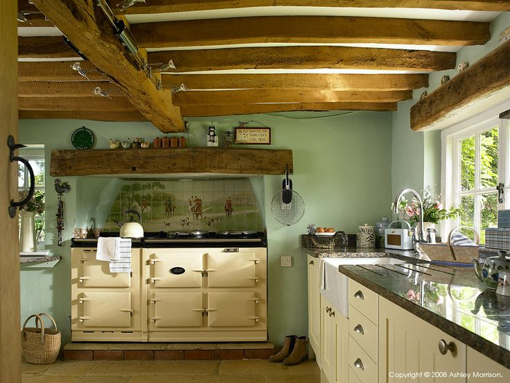 Cottage Kitchen In Oxfordshire