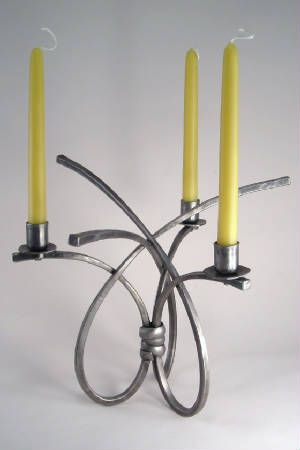 Rob Caperell Beautiful Hand Forged Iron Candle Holder Acc Baltimore Pinterest Blacksmithing Holders And Candles