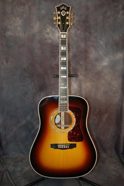 Guild D-55 Dreadnought Piezo Pickup Deluxe Case and Case Candy 2005 Sunburst | Reverb.com. Give us a call. Lawman Guitars. 515-864-6136