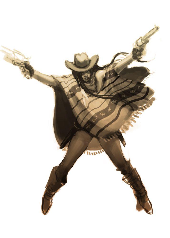 QDF - wk10 - Wild West by failstarforever.deviantart.com on @deviantART Cheyenne