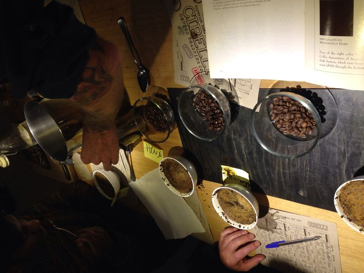 Cupping prep session