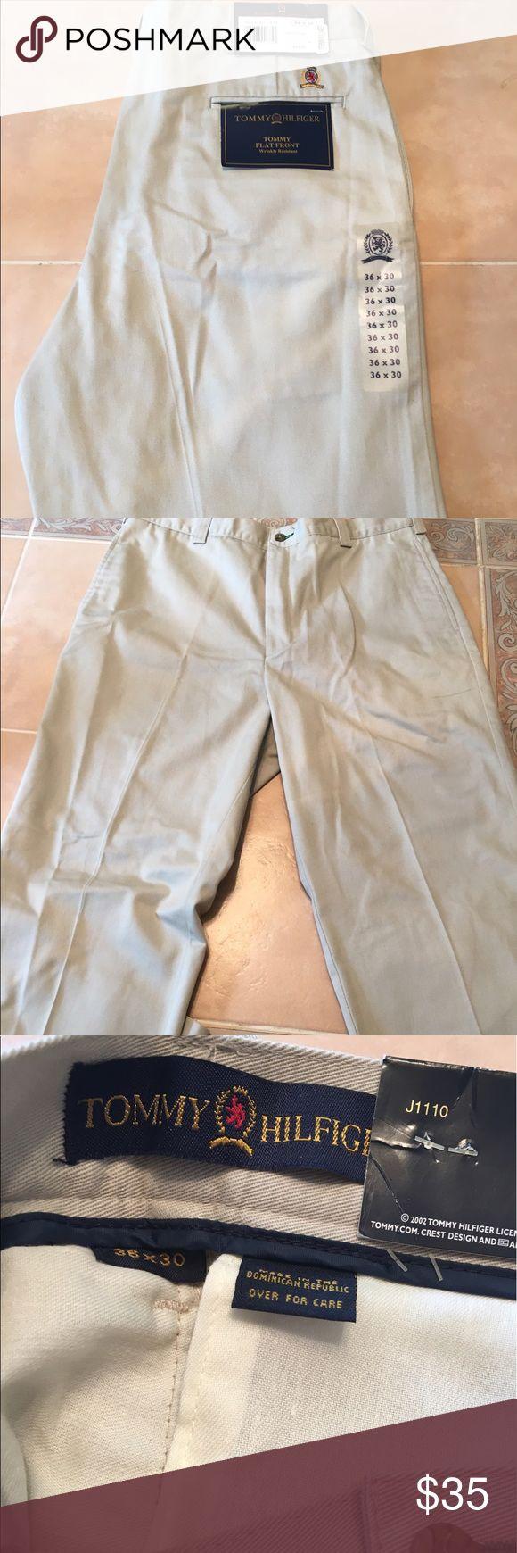 NWT Tommy Hilfiger khaki pants 36x30 Tommy Hilfiger khaki pants size 36x30 Tommy Hilfiger Pants Chinos & Khakis