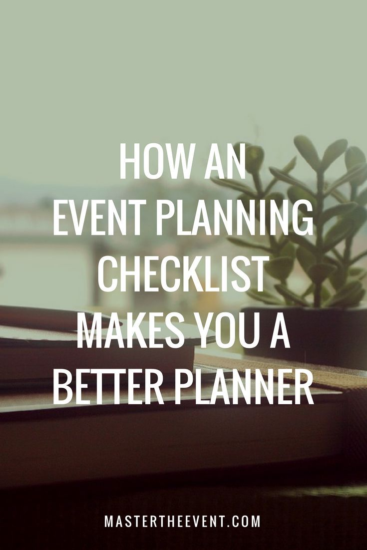 How an Event Planning Checklist Can Make
