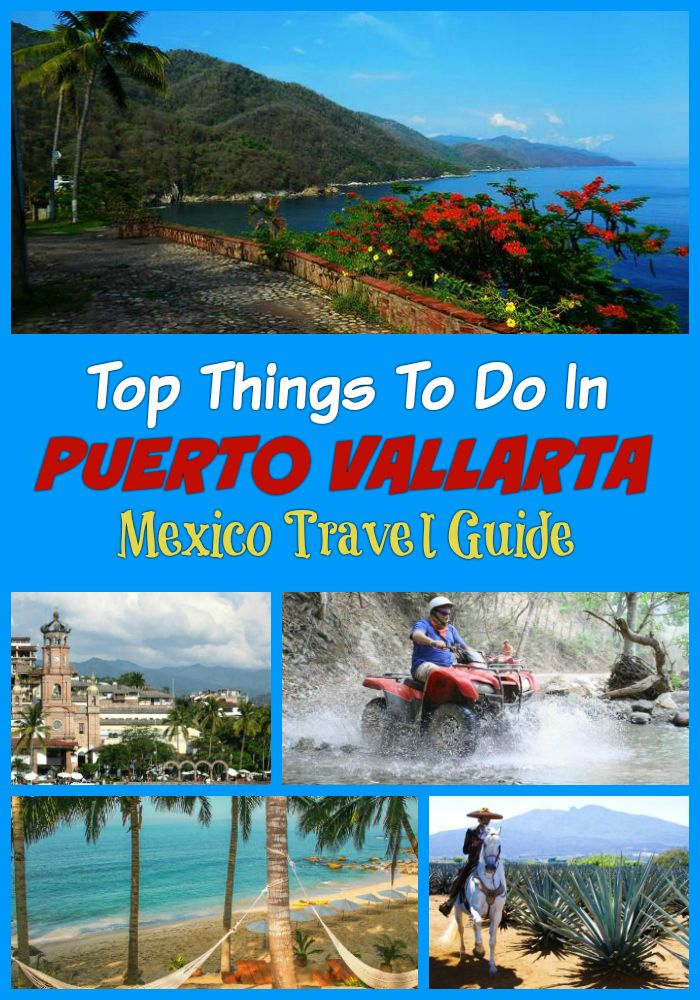 Top things to do in Puerto Vallarta on vacation - day trips, cultural tours, Sierra Madre Mountains, ziplines, Swimming with dolphins, water sports and more activities