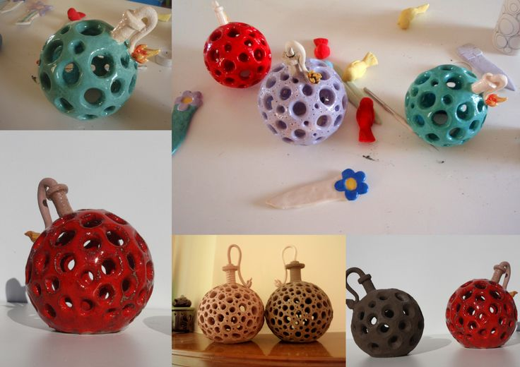 ceramic bombs, by hehe