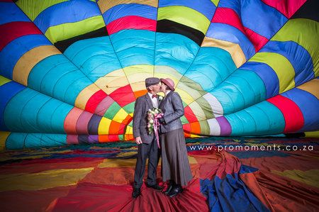 Drakensberg Hot Air Balloon Wedding