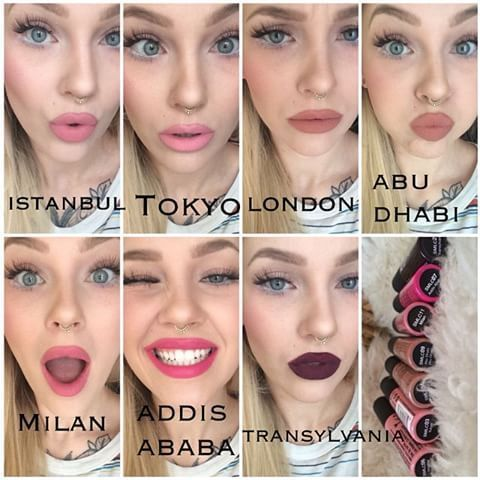 Image result for nyx lipstick swatches #lipcolorsmatte