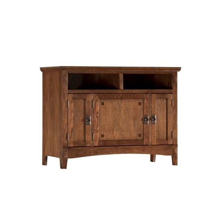 """Found it at cymax.com - Signature Design by Ashley Furniture Cross Island 42"""" TV Stand in Brown"""