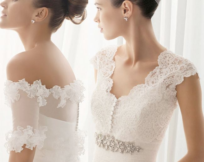 24 best images about wedding bolero on pinterest wedding for Wedding dress with shrug
