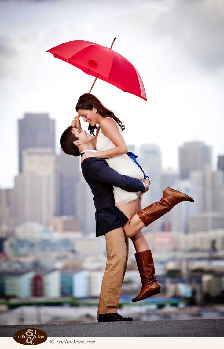 Laura and John's Engagment (3)...would something like this (no umbrella) work in the field?