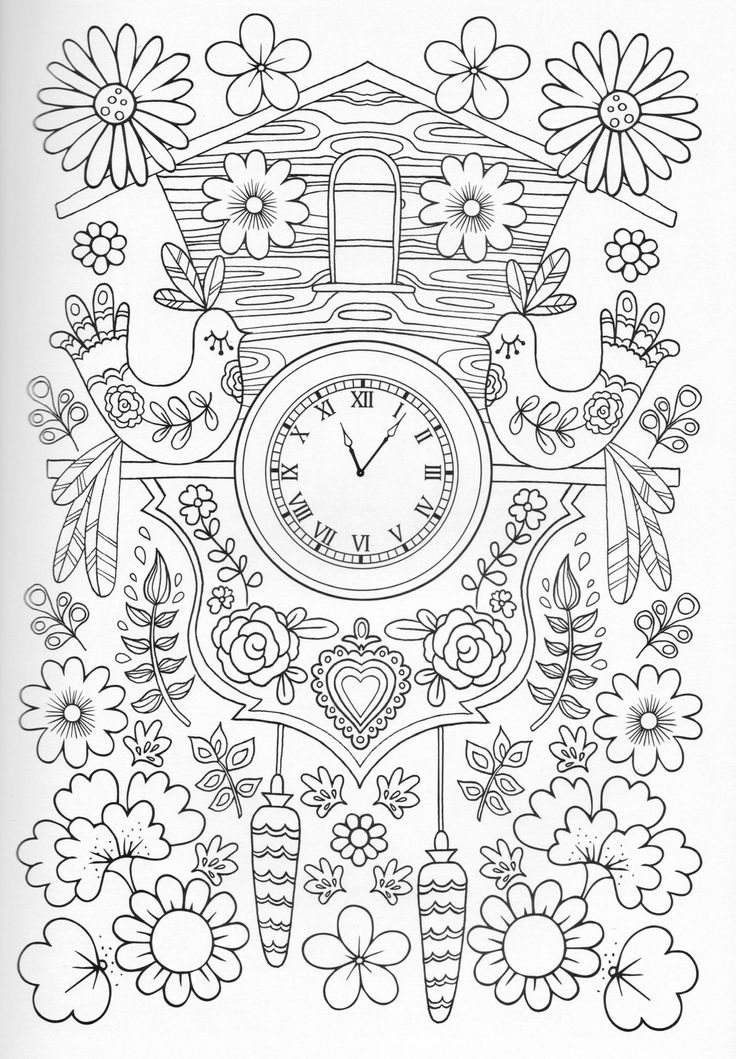 Secret Garden Flower Blume Fleur Fiore Flor Kvetina Blomma Coloring Page For Adults Kleuren