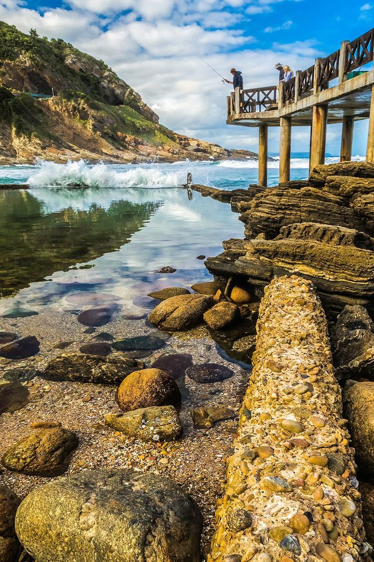 Victoria Bay Pier, Garden Route, South Africa (With images