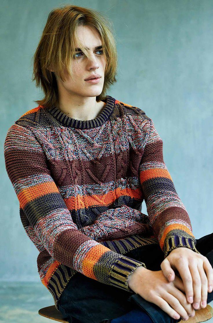Men's knit sweaters. Ton Heukels for Scotch & Soda Fall/Winter 2013
