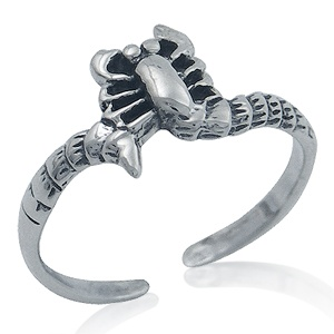 Sterling Silver Scorpion Toe RIng.  $4.99